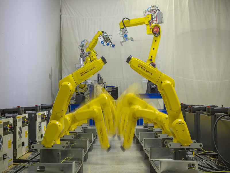 Interactive Design Inc | Vision Guided Robots